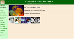Preview of cambridgeforecast.org