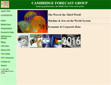 Tablet Preview of cambridgeforecast.org